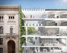 Bundesrat Berlin, Anbau mit Besucherzentrum